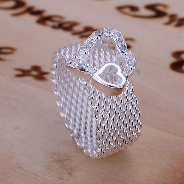 UK-925-Silver-Plt-Statement-Ring-P-1-2-Size-Ladies-Gift-Thumb-Toe-Open-Finger thumbnail 5