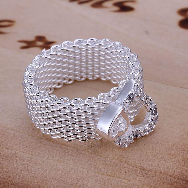 UK-925-Silver-Plt-Statement-Ring-P-1-2-Size-Ladies-Gift-Thumb-Toe-Open-Finger thumbnail 7