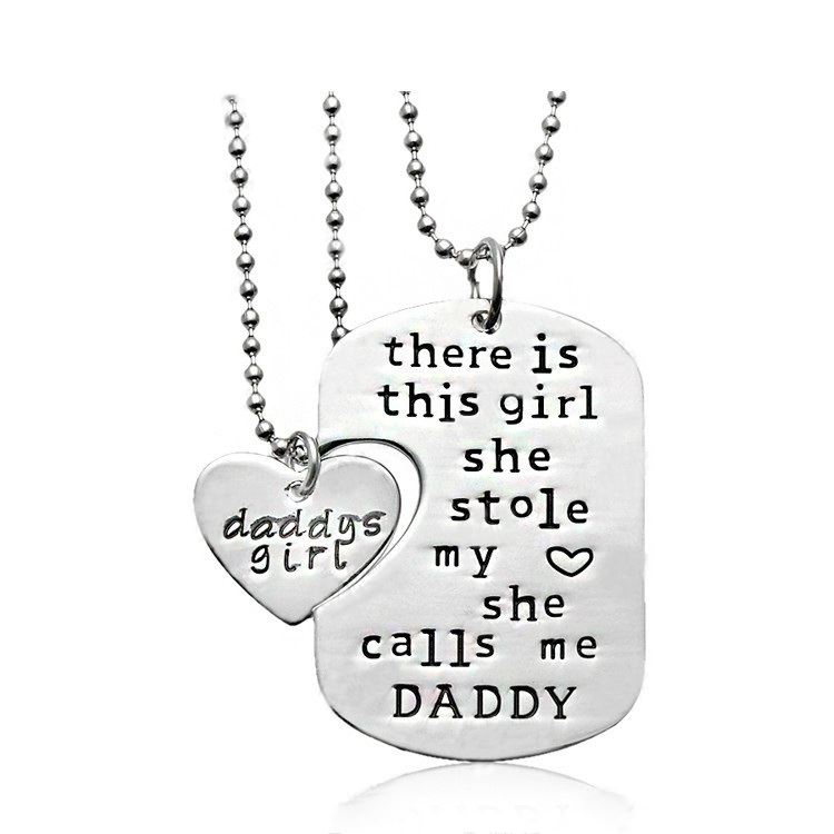 UK-Shop-Silver-039-THERE-IS-THIS-GIRL-WHO-STOLE-MY-HEART-039-Necklace-She-Calls-Mum thumbnail 8