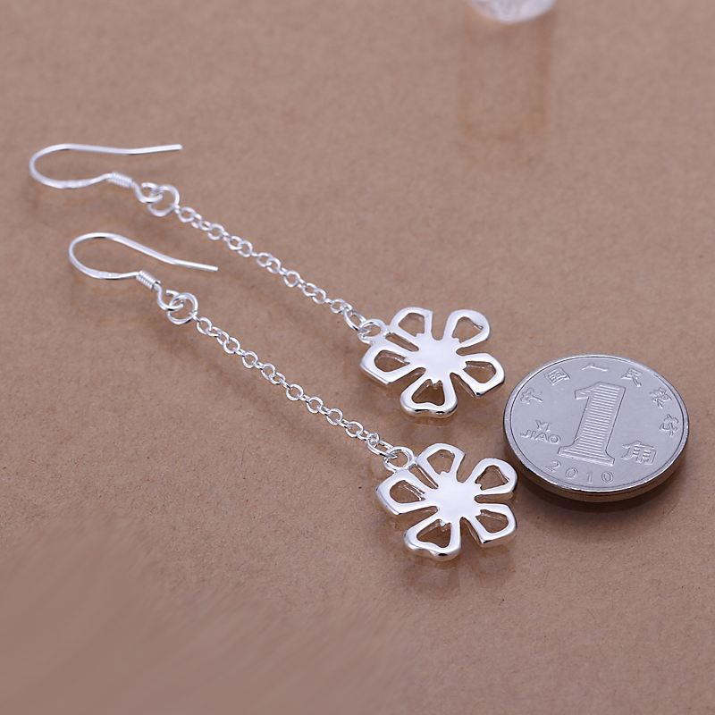 UK-Shop-925-STERLING-SILVER-PLT-LONG-DROP-DANGLE-HANGING-HOOK-EARRINGS-LARGE thumbnail 59