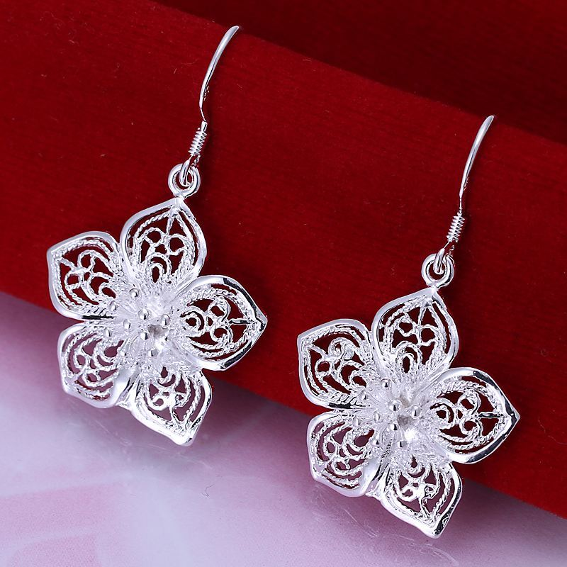 UK-Shop-925-STERLING-SILVER-PLT-LONG-DROP-DANGLE-HANGING-HOOK-EARRINGS-LARGE thumbnail 43