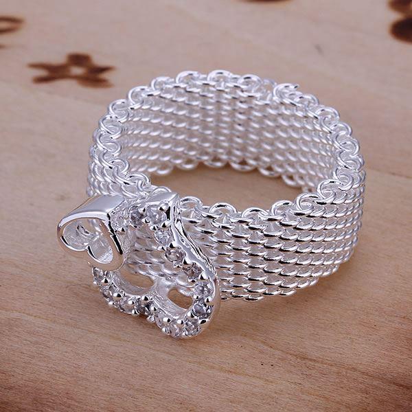 UK-925-Silver-Plt-Statement-Ring-P-1-2-Size-Ladies-Gift-Thumb-Toe-Open-Finger thumbnail 6