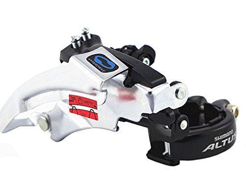 SHIMANO ALTUS FD-M310 Front Derailleur 31.8//34.9mm for MTB Bike Bicycle Triple