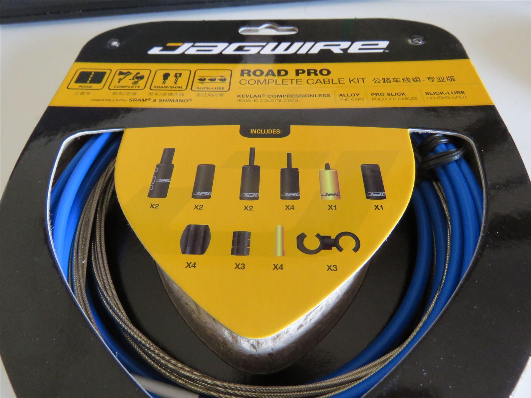Jagwire Pro Câble De Frein Kit Road SRAM//Shimano Blanc