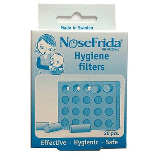 Nosefrida Baby Nasal Aspirator Spare Filters Saline Nasal