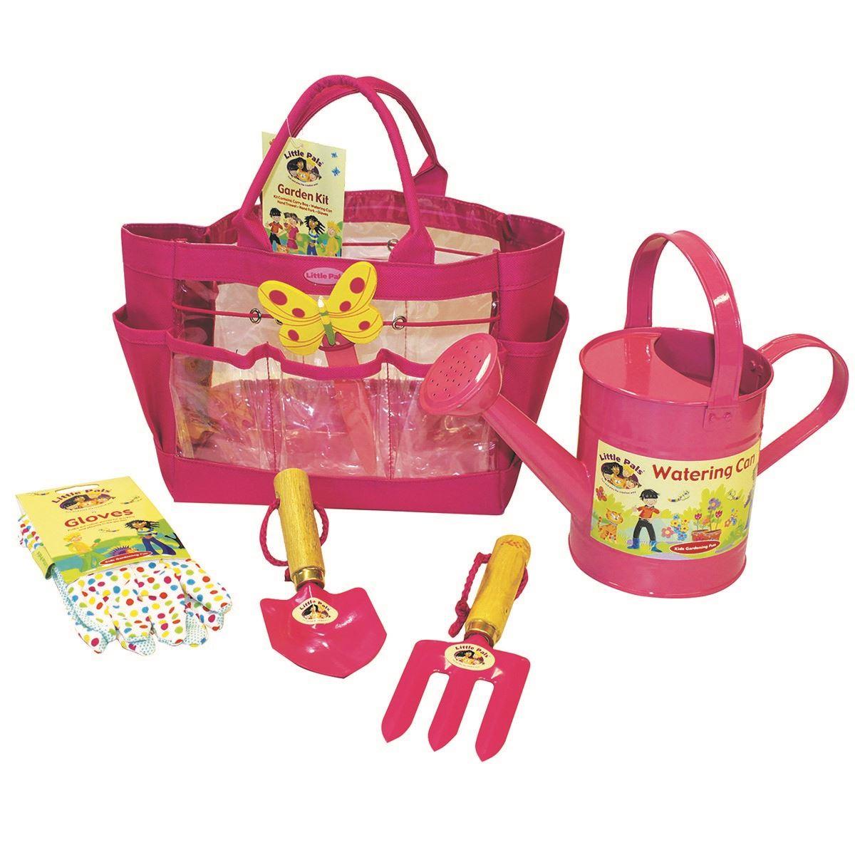 Little pals childrens senior garden set the complete kit for Gardening kit for toddlers
