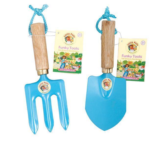 childrens garden tools set. Little-Pals-Garden-Tool-Pouch-Kit-in-Pink- Childrens Garden Tools Set