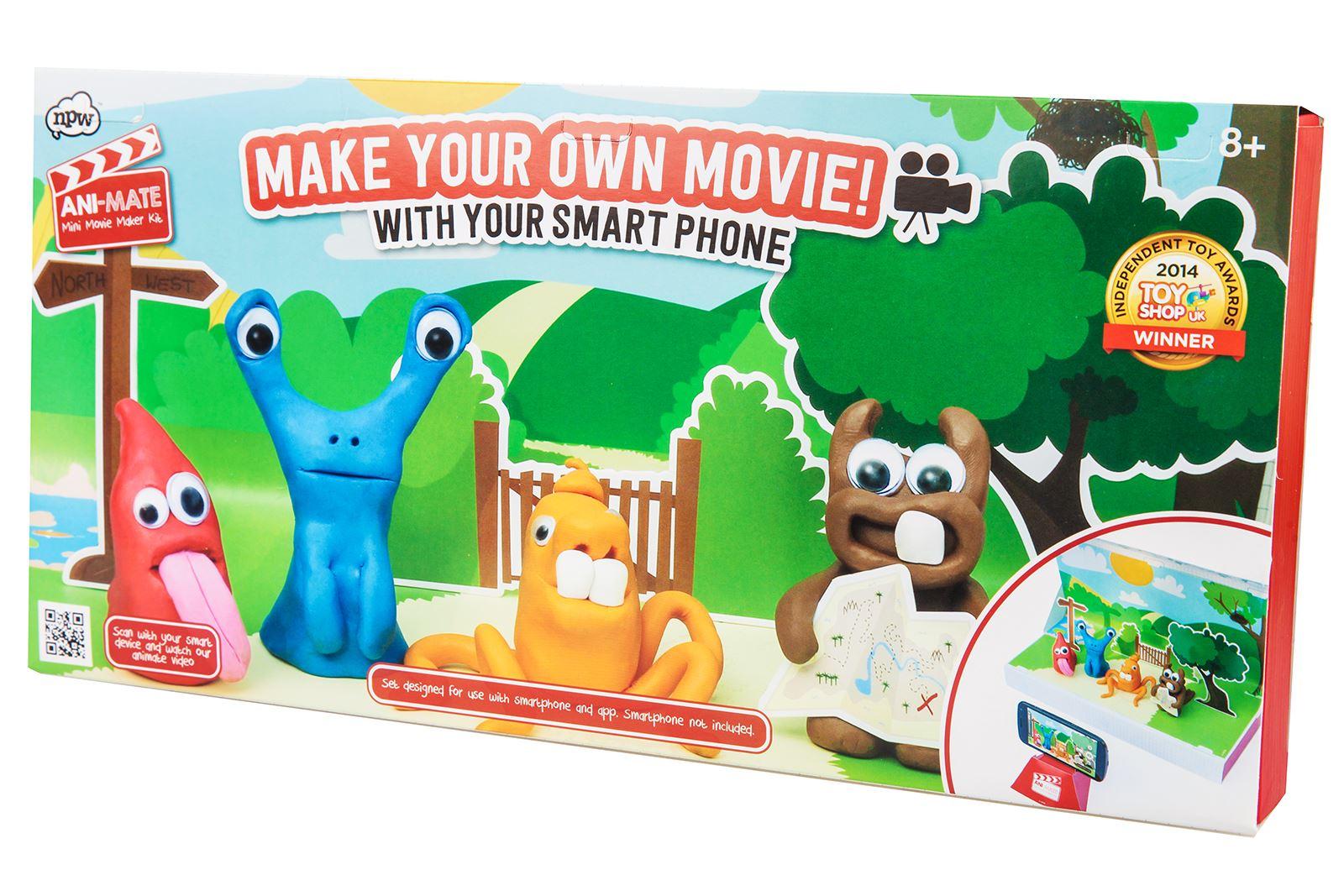 ani mate make your movie kit animation kids gift clay kit modelling