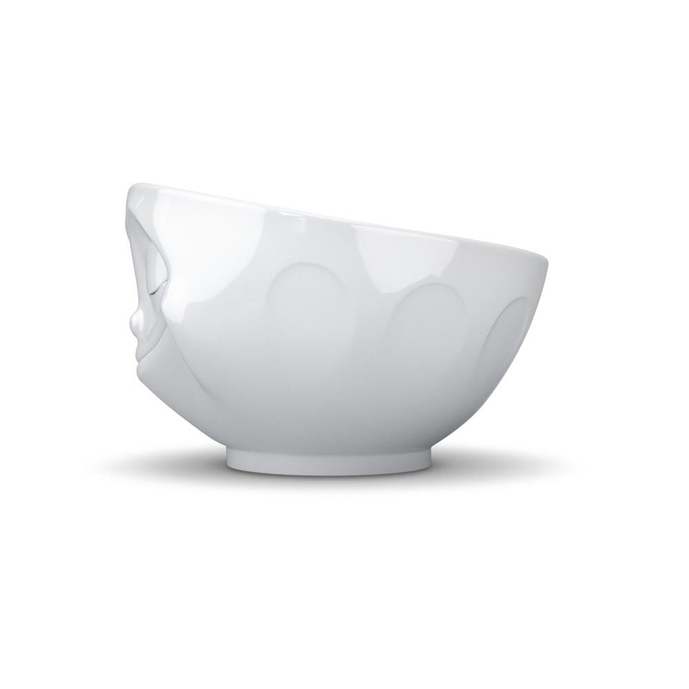 Tassen Crockery : Tassen face bowls white porcelain with grinning kissing