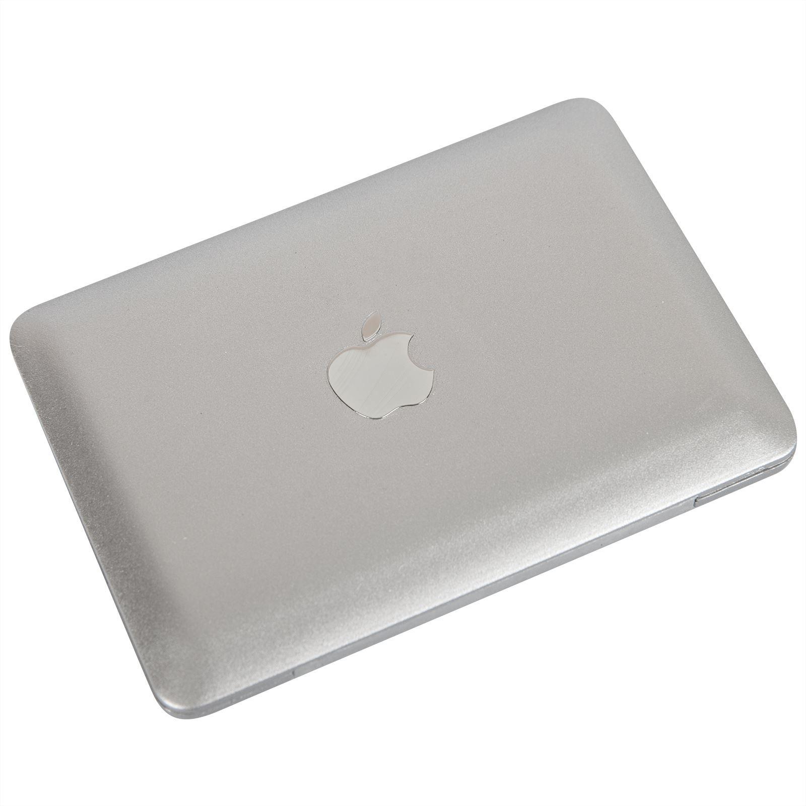 mac book air design portable compact pocket mini make up cosmetic mirror ebay. Black Bedroom Furniture Sets. Home Design Ideas