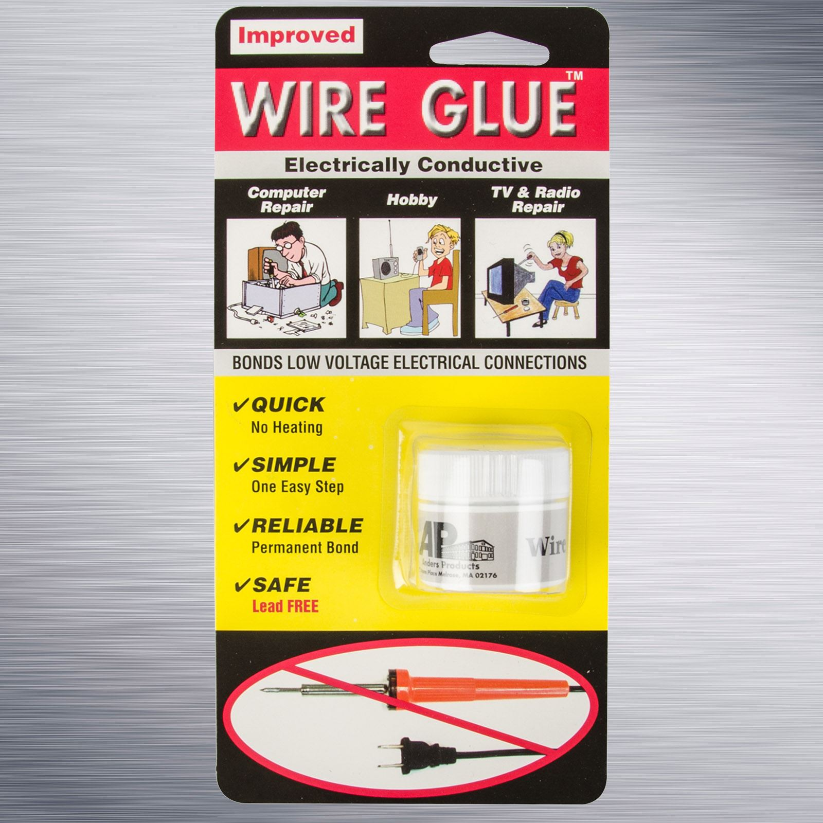 Highly Conductive Wire Glue / Paint for AC/DC - NO Soldering Iron ...