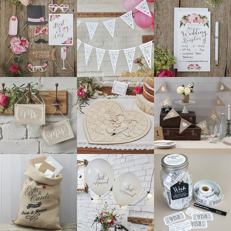 Rustic Wedding Decorations Ebay