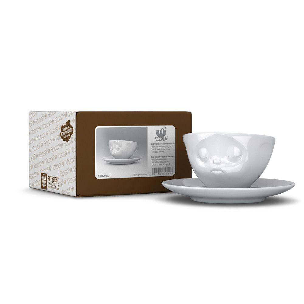 Tassen Face : Tassen espresso coffee cup saucer mug grinning kissing
