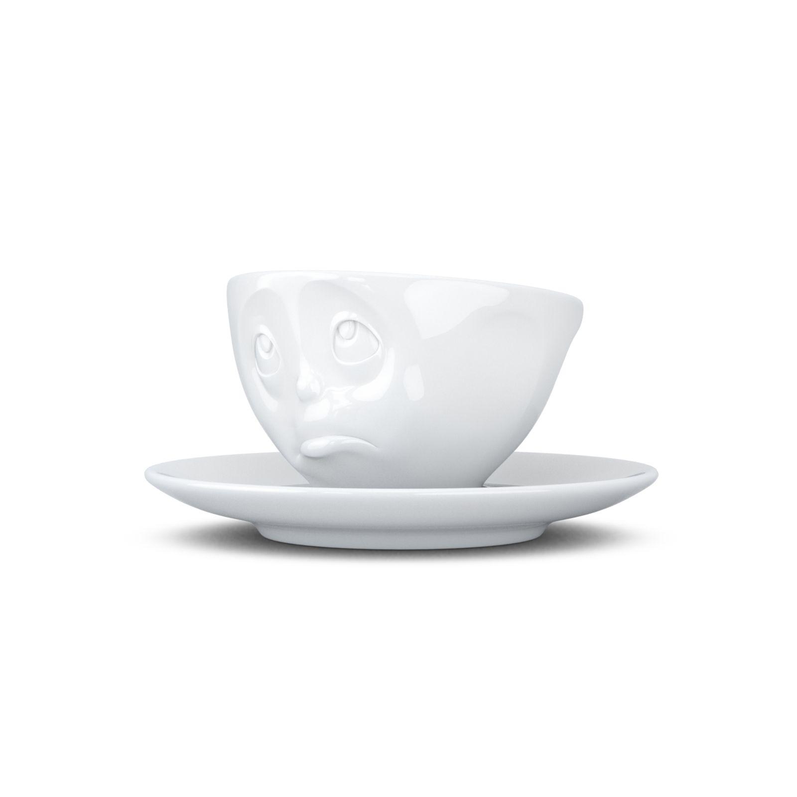 tassen espresso coffee cup saucer mug grinning kissing. Black Bedroom Furniture Sets. Home Design Ideas
