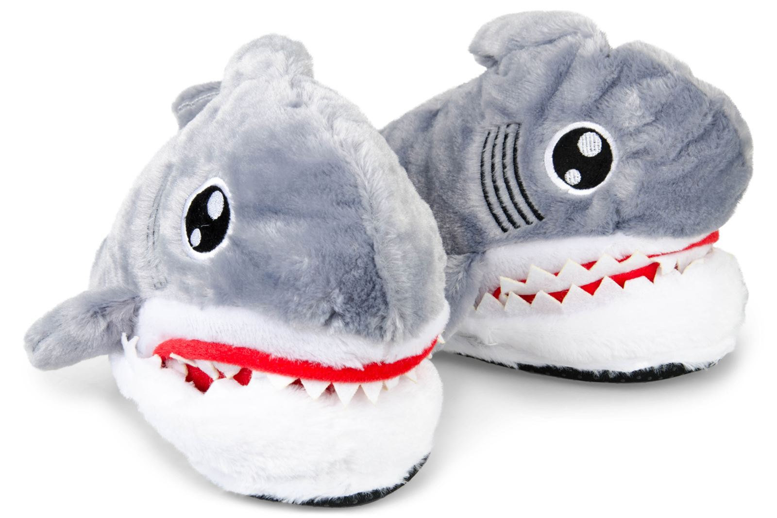 Shark Feet Eating Cute Plush Sharks Head Slippers Ebay