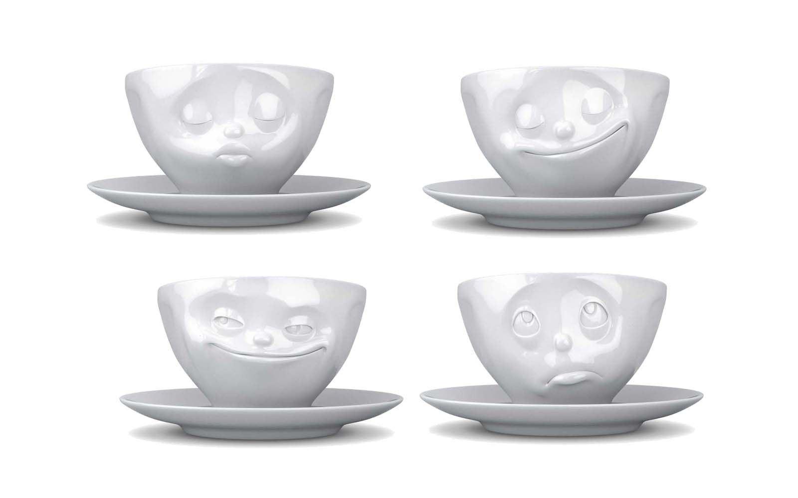 Tassen Face : Tasse kaffeetasse becher lachend k?ssend gl?ckliches
