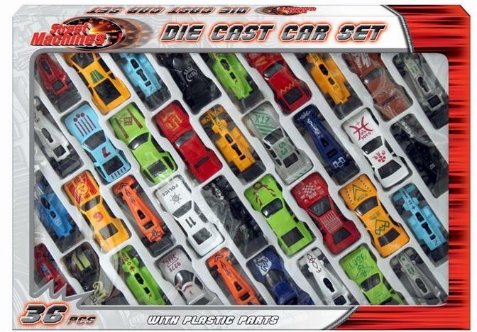 Die Cast Car Racing Race F1 Toy Play Metal Mini Vehicle Model Set