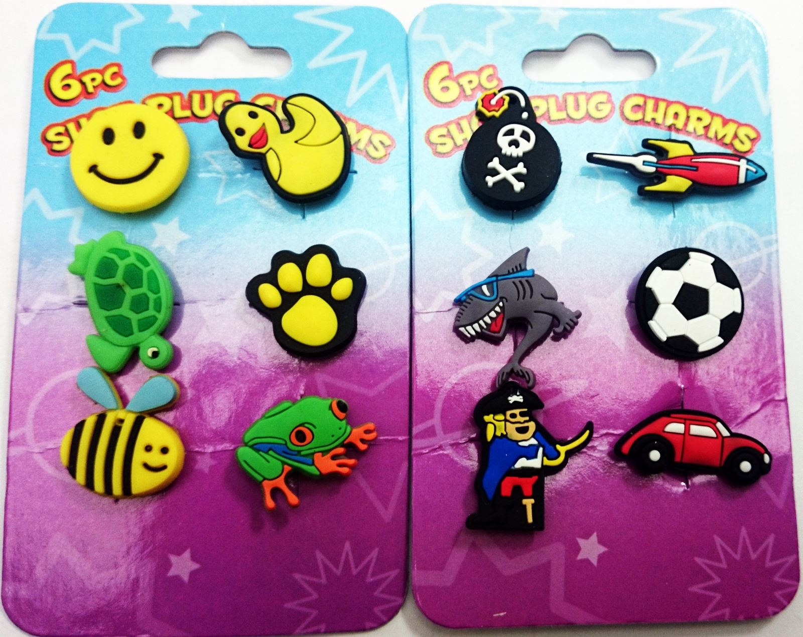 34f6a35b695cc Shoe Charm Plug Crocs Clogs Sticker Funny Clips Kid Party Bag Favour Wrist  Band