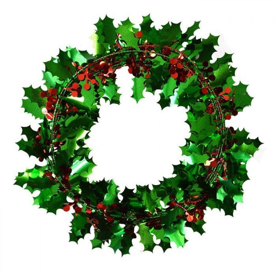 Christmas Leaves.Details About Christmas Holly Wire Garland Decoration Leaves Red Berries Festive Tree Party
