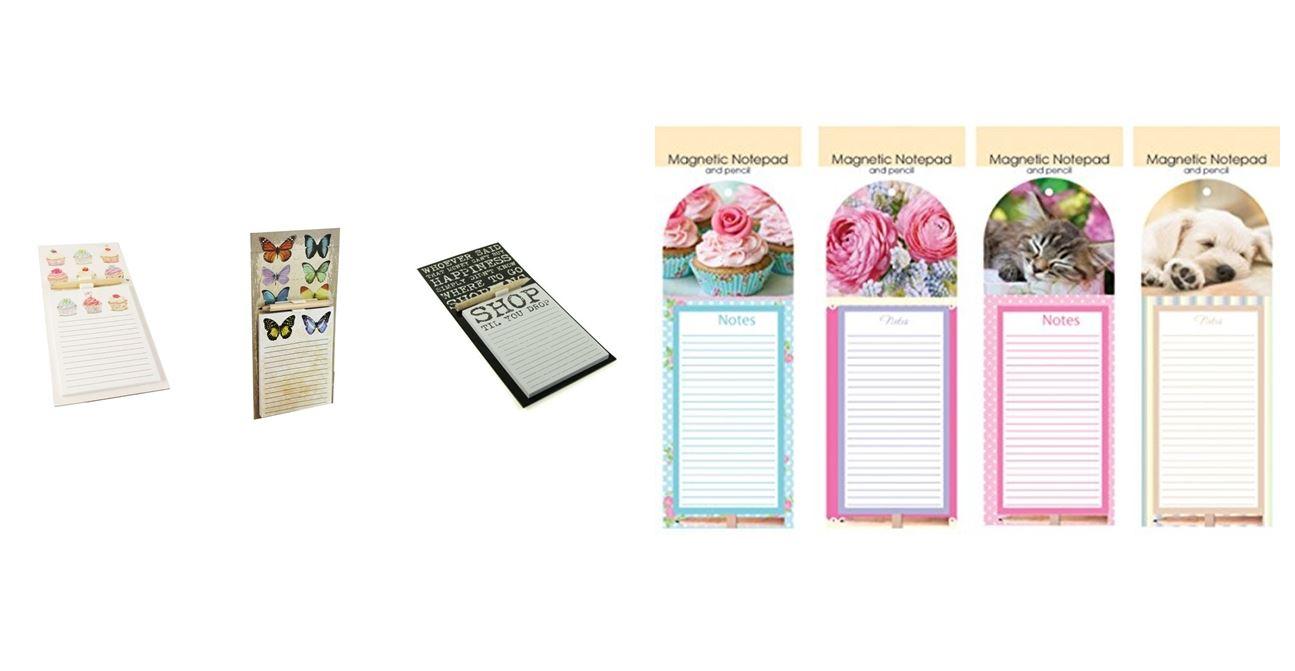 Magnetic Memo Note Pad Pencil Memory Shopping List Fridge Magnet ...