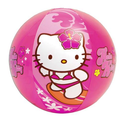 Details About Inflatable Blowup HELLO KITTY Play Beach Ball Pool Party Holiday Swimming Garden