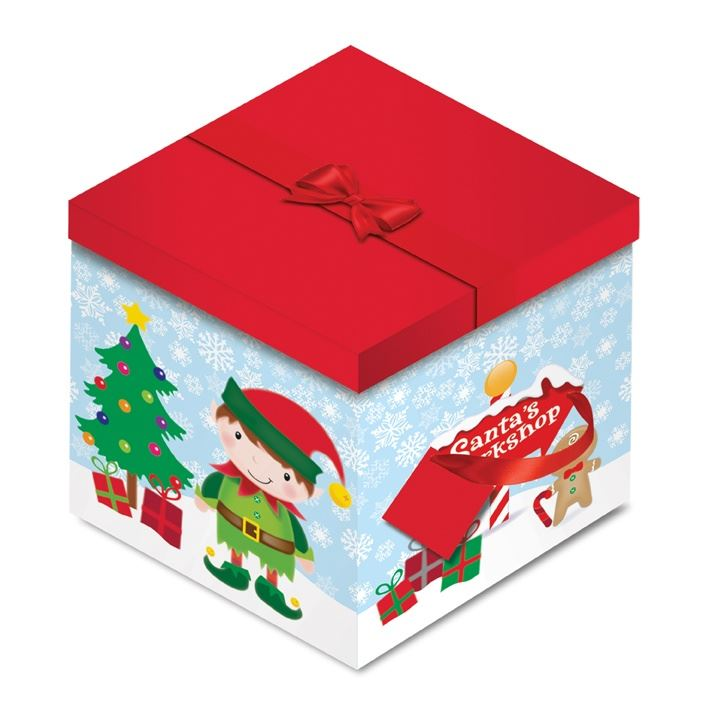 Cute gift boxes christmas