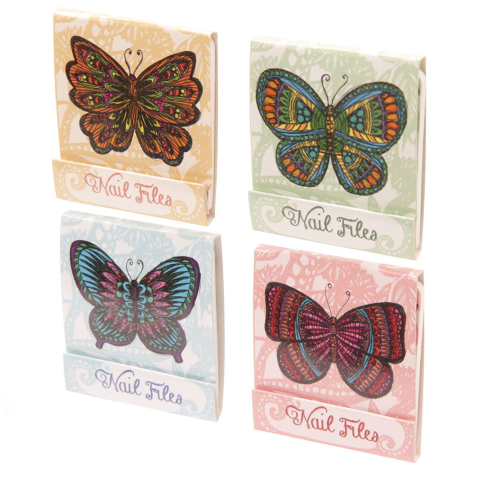 Novelty Mini Nail File Match Book Stocking Filler Token Pocket Gift ...