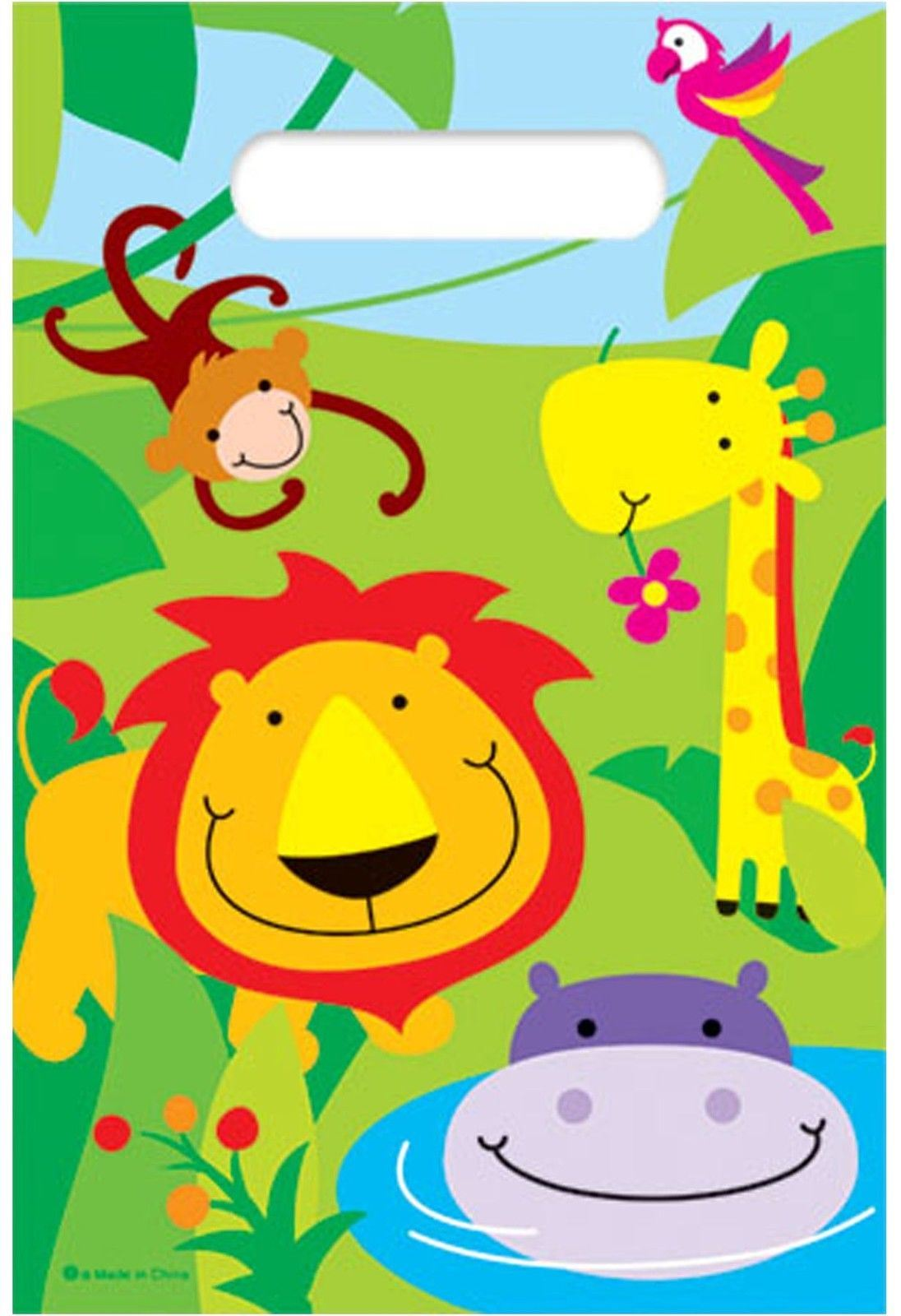 12 boy girl kid child birthday party invitation card envelope jungle 12 boy girl kid child birthday party invitation card envelope jungle zoo animal stopboris Image collections
