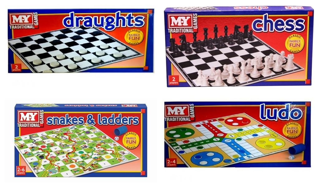 Details about Traditional Board Games Family Fun Party Classic Kid Child  Full Size Party Toy