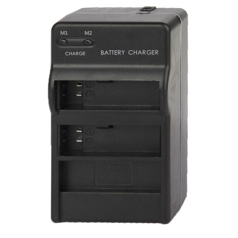 Cargador-de-bateria-Dual-para-GoPro-Hero-4-Adaptador-de-carga-de-coche-y-pared