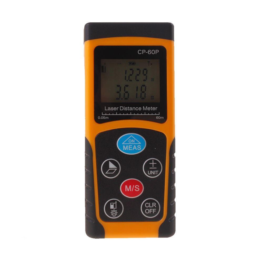 Medidor l ser de distancia cp 60p distanciometro tel metro for Medidor de distancia laser