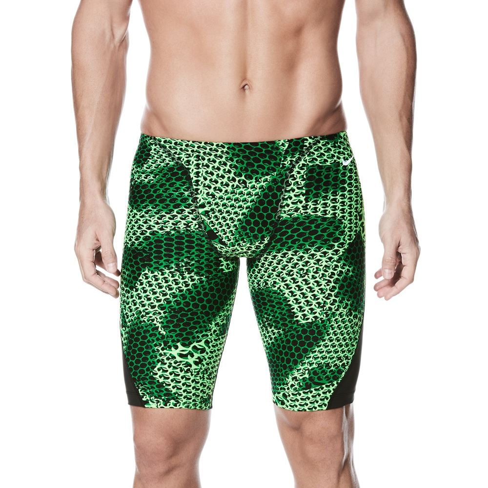 Details zu Nike Jammers Men's Nike Schwimm Performance Nova Zündkerze Jammer Green