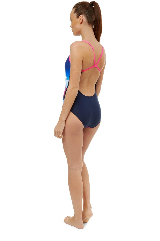 Maru Womens Cascade Swimming Costume Pacer Vault Back Swimsuit FS5509 RW84