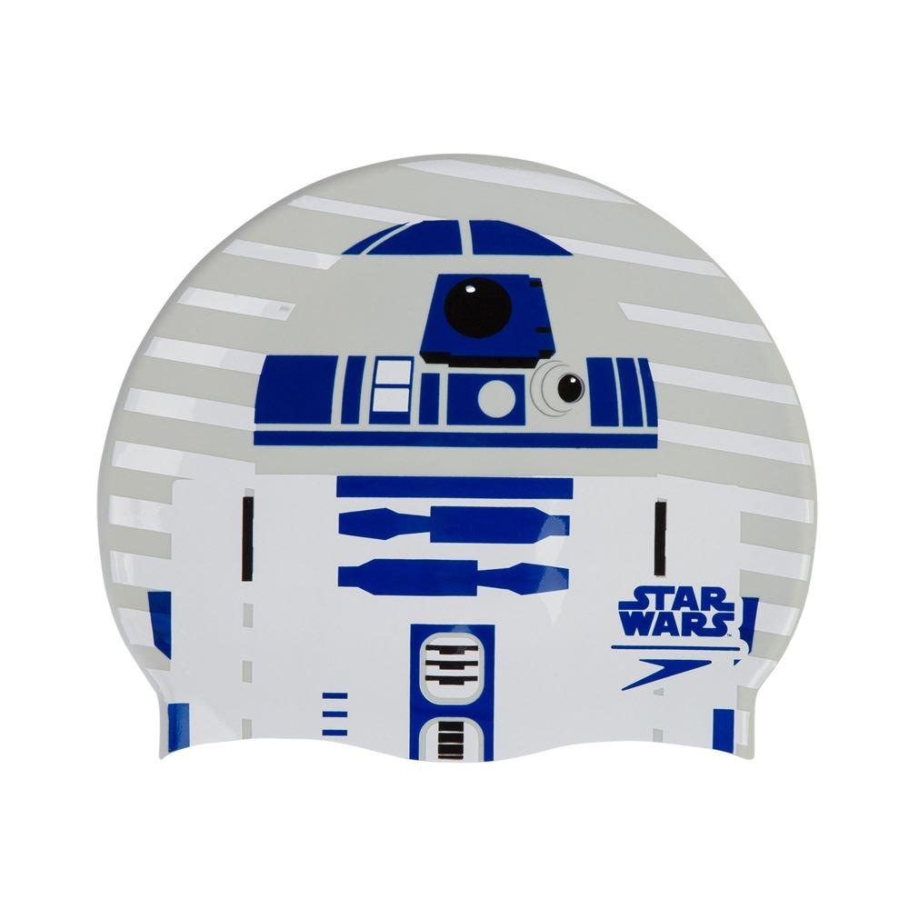 Speedo Star Wars R2D2 Slogan Print Adult Swimming Cap