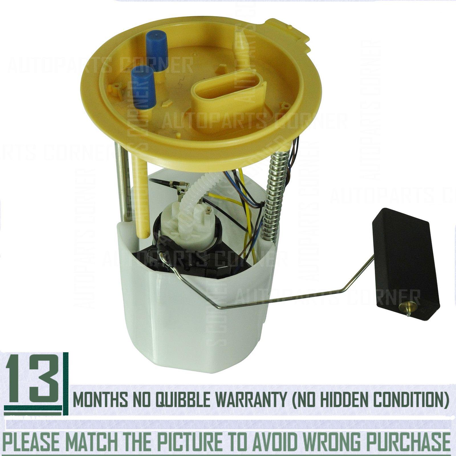 Diesel Electric Fuel Pump Assembly Sending Unit for Audi A3 VW Beetle 1K0919050J