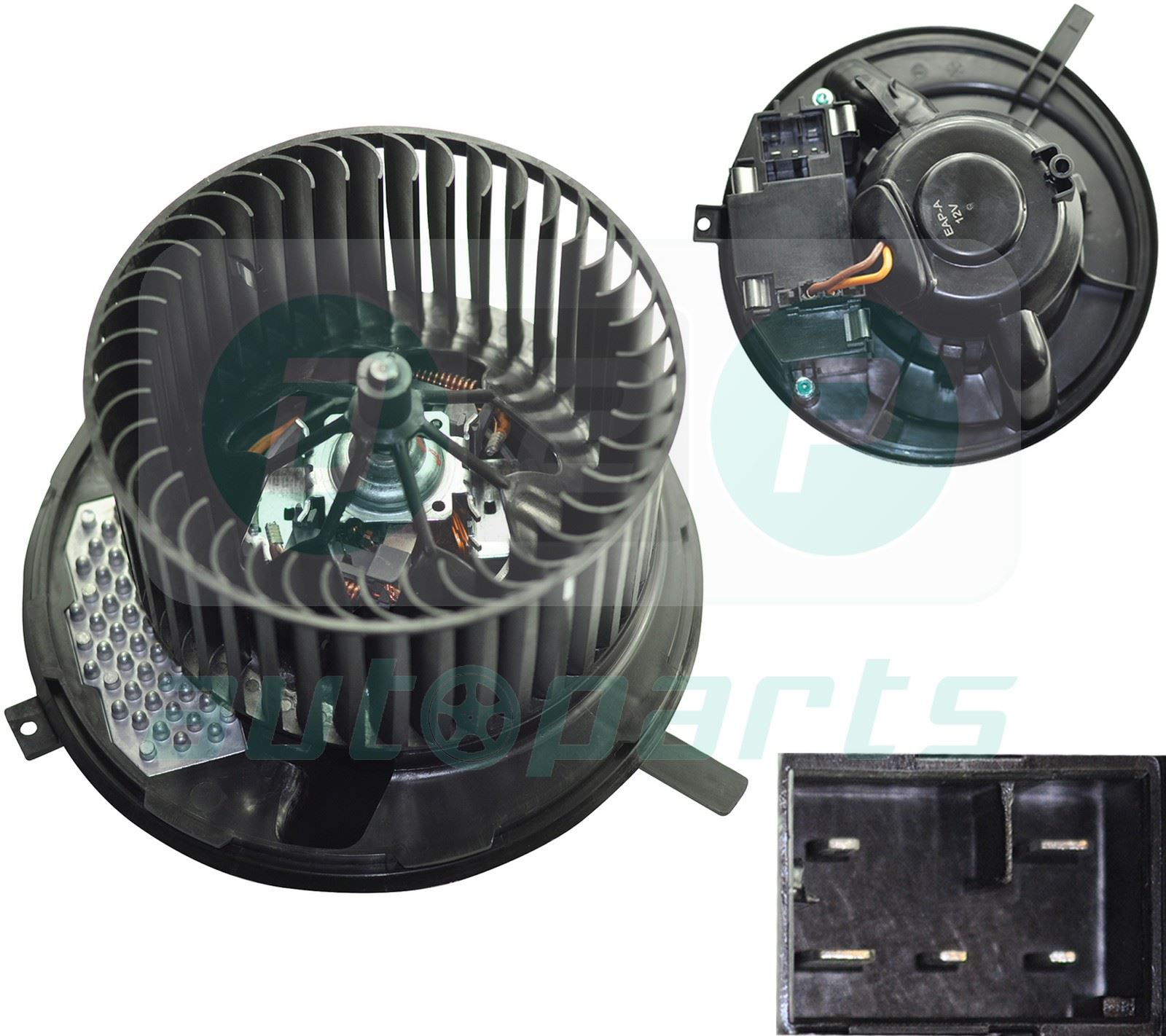Heater blower fan motor with air con for audi a3 tt tt for Fan motor for heater