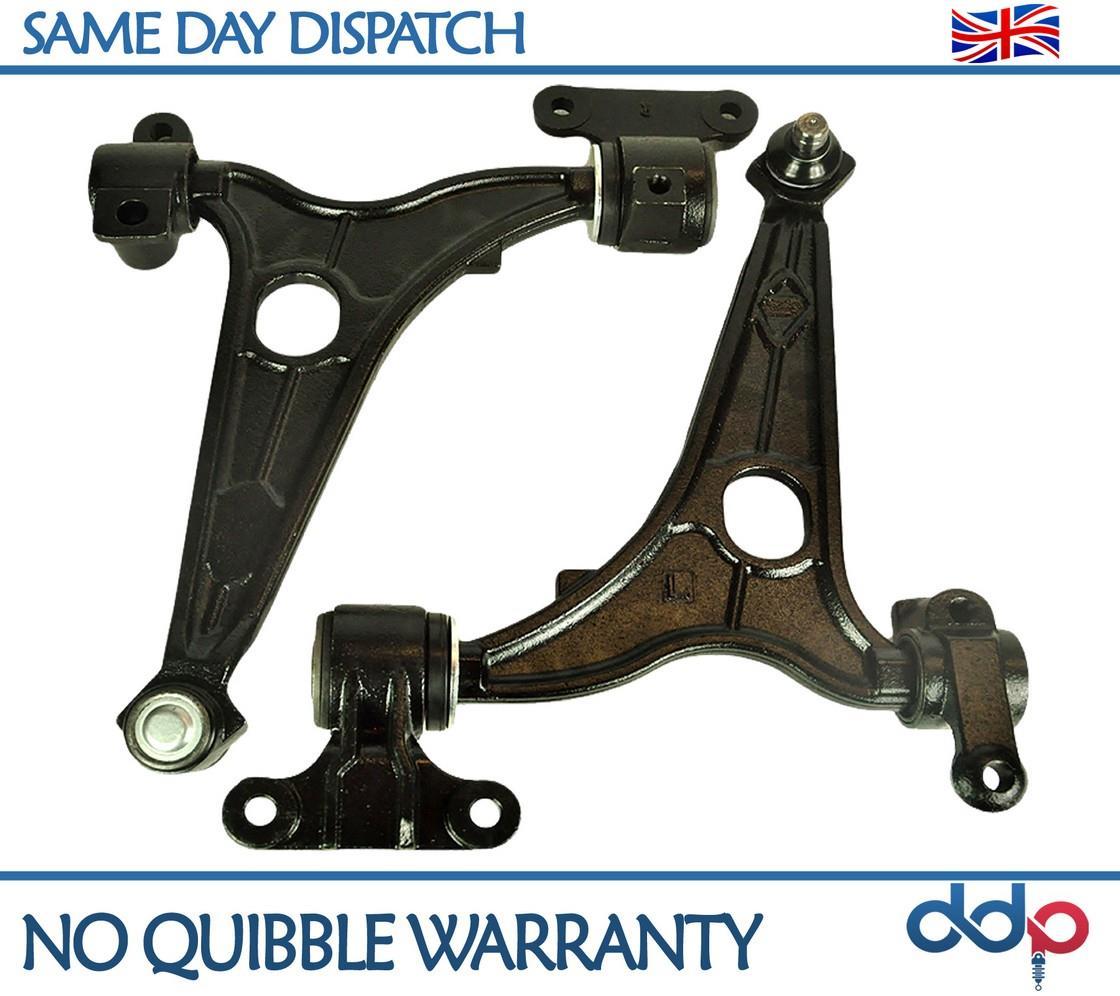 PAIR Wishbone Control Arms FOR Peugeot Expert Citroen Dispatch /& Fiat Scudo