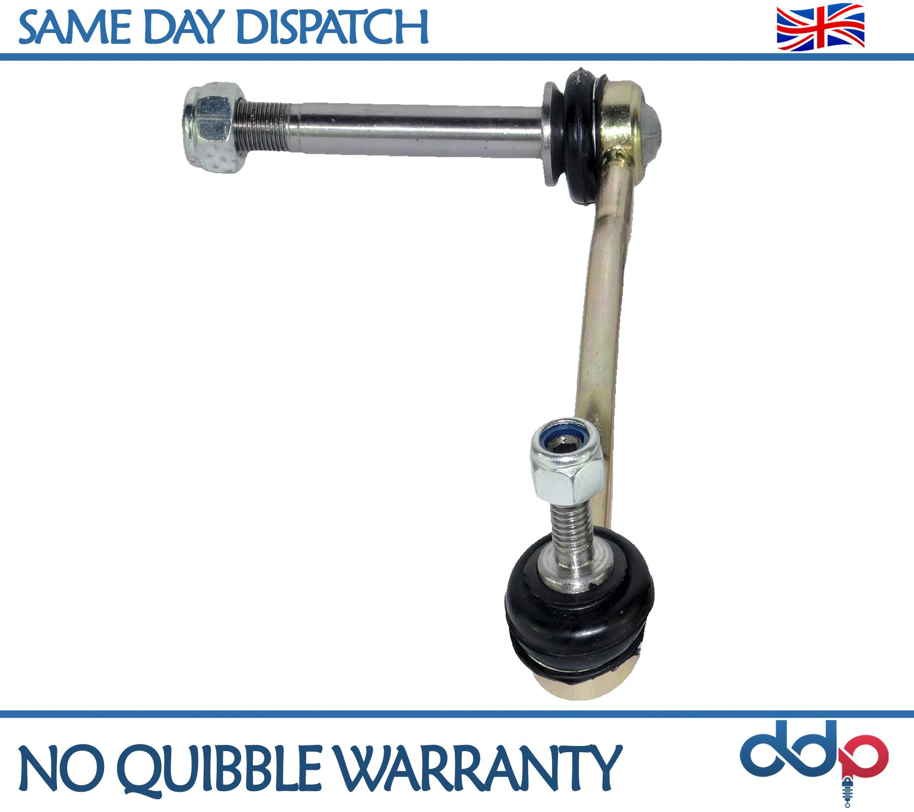 2 x FOR PEUGEOT 407 508 2005-ON REAR PAIR STABILISER ANTI ROLL BAR DROP LINK