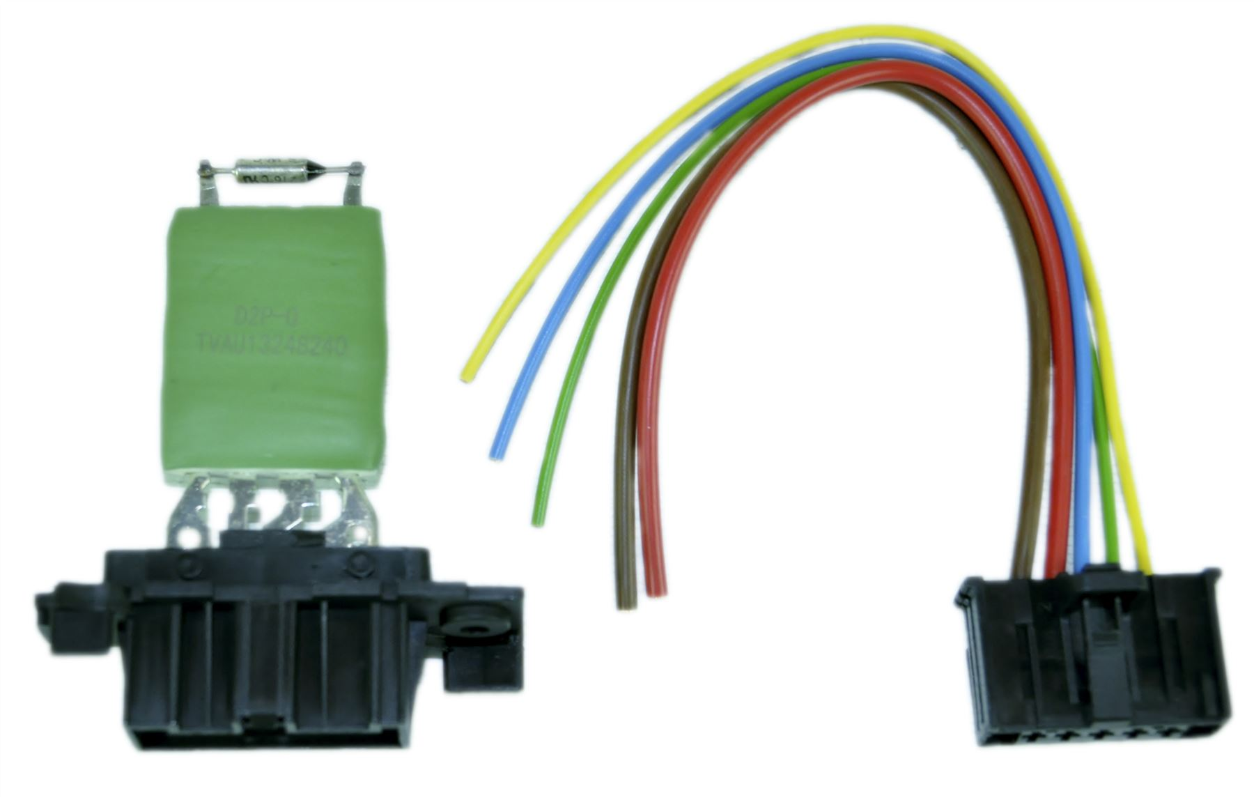 Heater Blower Fan Motor Resistor With Wiring Loom For Fiat
