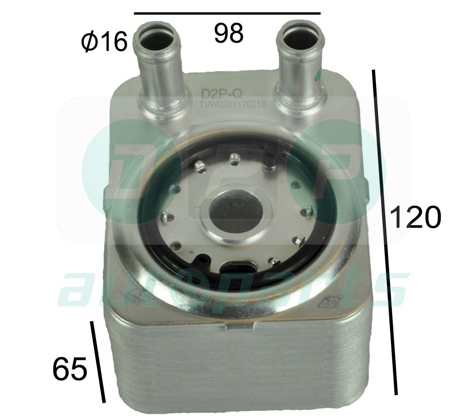 For Audi Q7 (2006-2015) 3.6 FSI Engine Oil Cooler