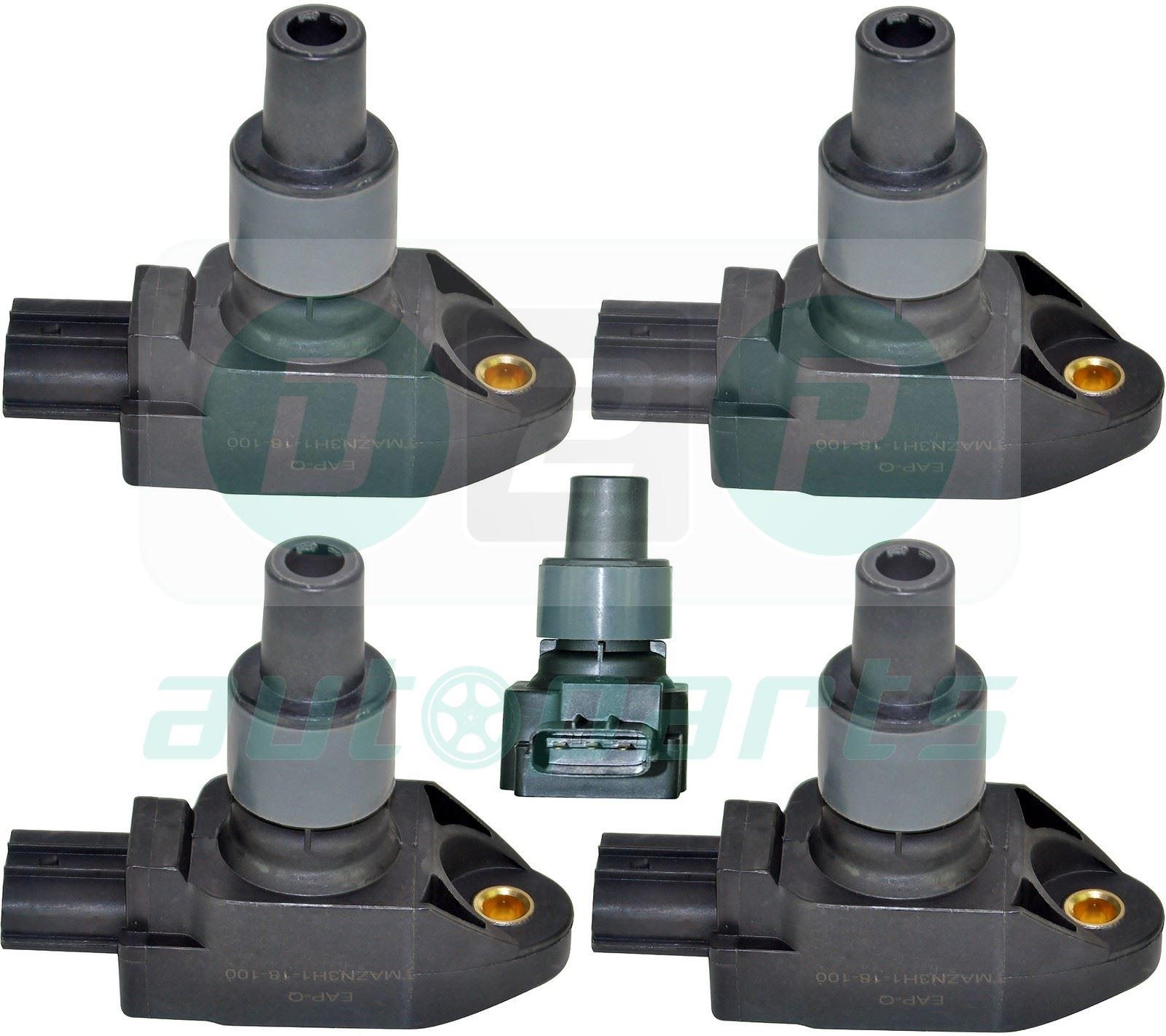 for mazda rx 8 rx8 rx 8 2 6 2003 2012 ignition coils. Black Bedroom Furniture Sets. Home Design Ideas