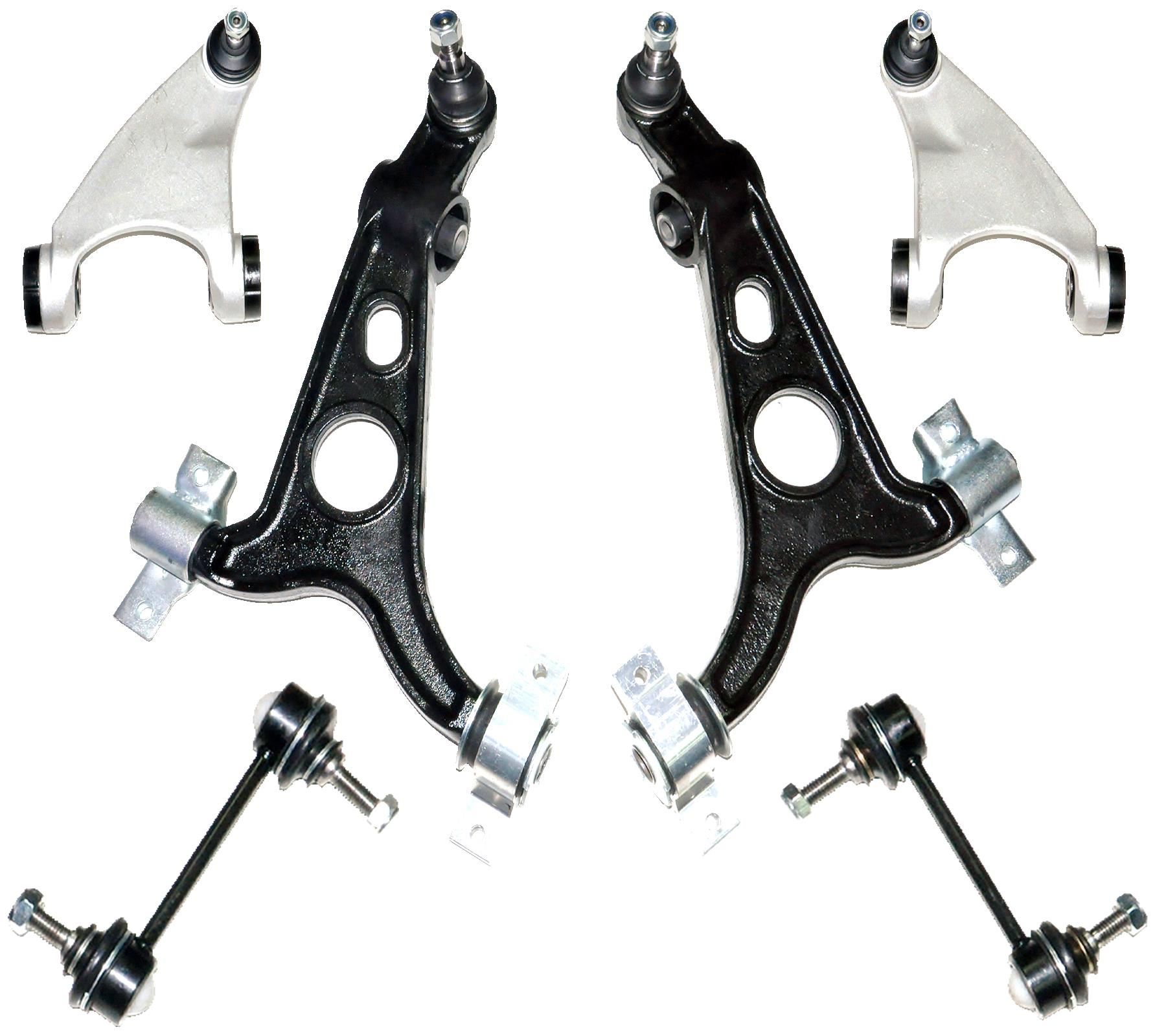FOR ALFA ROMEO 147 156 GT 97-10 FRONT TRACK CONTROL ARM WISHBONE SUSPENSION KIT