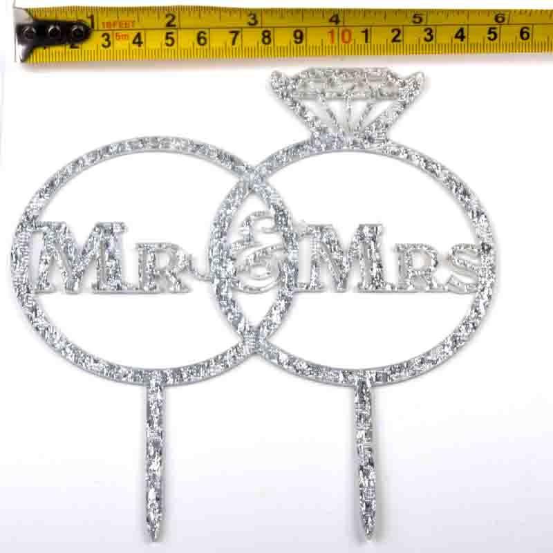 Cake-Toppers-MULTIPLE-DESIGNS-Wedding-Birthday-Decoration-Baking thumbnail 53