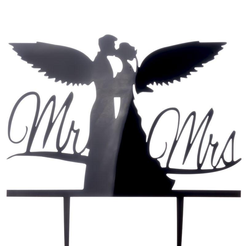 Cake-Toppers-MULTIPLE-DESIGNS-Wedding-Birthday-Decoration-Baking thumbnail 3