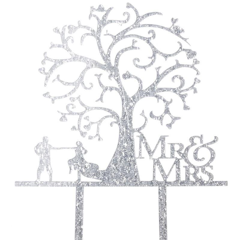 Cake-Toppers-MULTIPLE-DESIGNS-Wedding-Birthday-Decoration-Baking thumbnail 18
