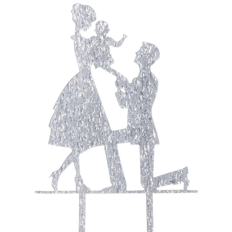Cake-Toppers-MULTIPLE-DESIGNS-Wedding-Birthday-Decoration-Baking thumbnail 24