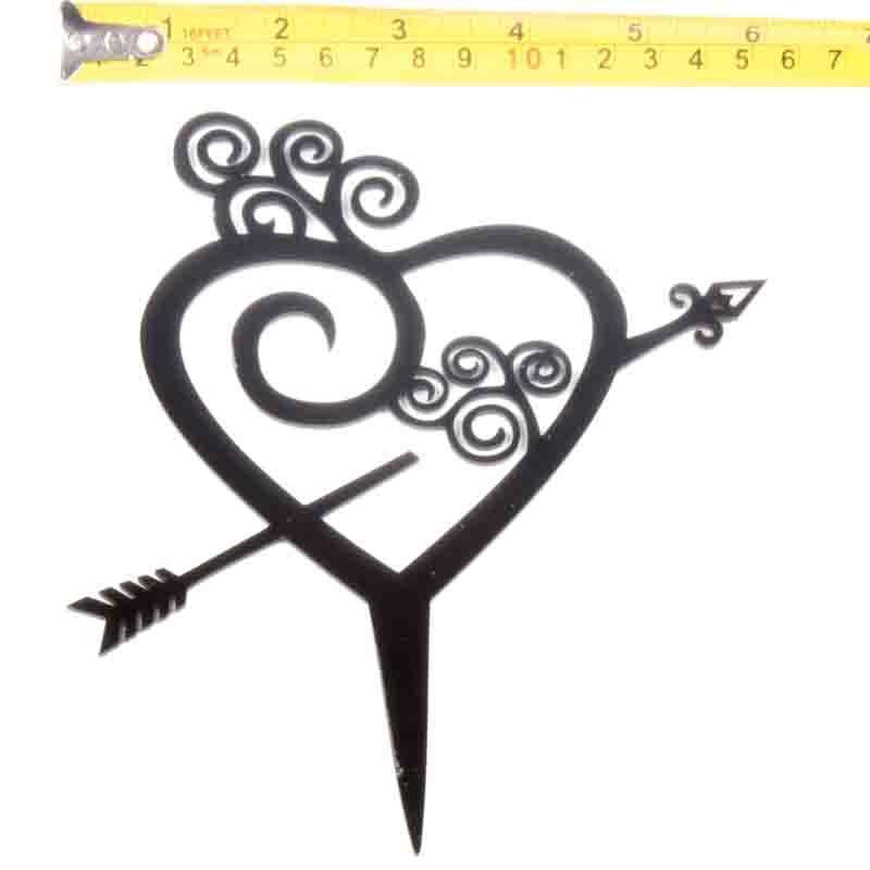 Cake-Toppers-MULTIPLE-DESIGNS-Wedding-Birthday-Decoration-Baking thumbnail 38