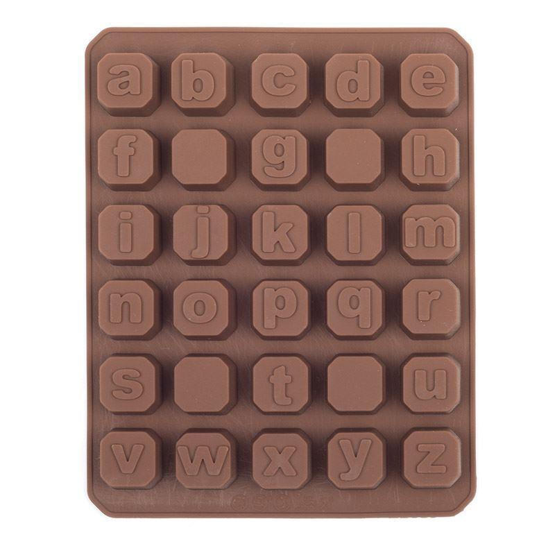 minuscules moule silicone alphabet lettres caractères Réduit