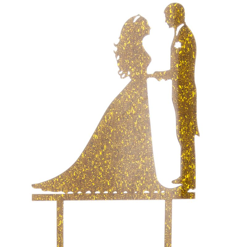 Cake-Toppers-MULTIPLE-DESIGNS-Wedding-Birthday-Decoration-Baking thumbnail 9
