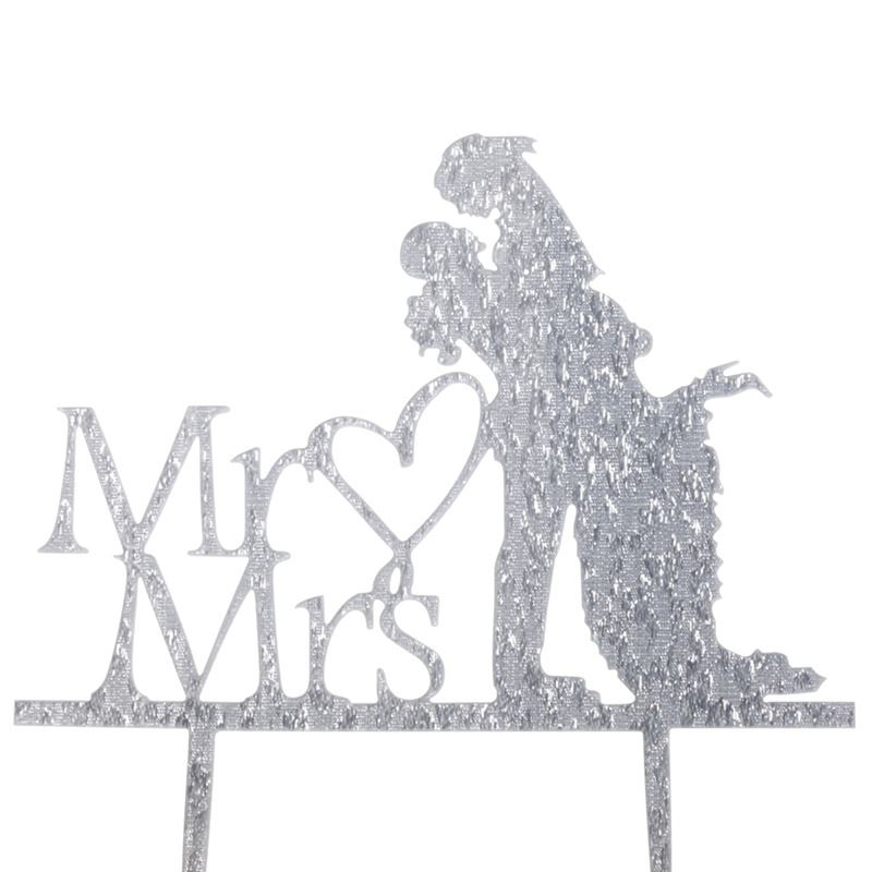 Cake-Toppers-MULTIPLE-DESIGNS-Wedding-Birthday-Decoration-Baking thumbnail 15